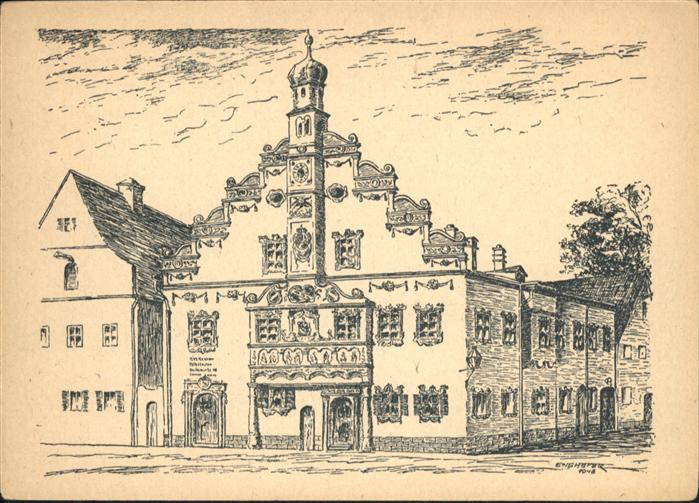 Ingolstadt Donau Rathaus Gaimersheim / Ingolstadt /Ingolstadt Stadtkreis