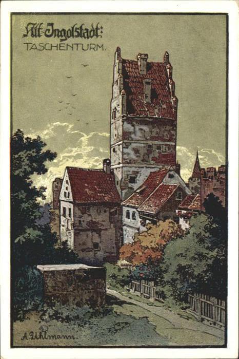 Ingolstadt Donau Taschenturm / Ingolstadt /Ingolstadt Stadtkreis