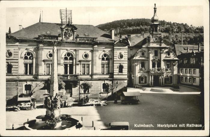 Kulmbach Marktplatz Rathaus  / Kulmbach /Kulmbach LKR