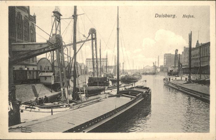 Duisburg Ruhr Duisburg Hafen * / Duisburg /Duisburg Stadtkreis