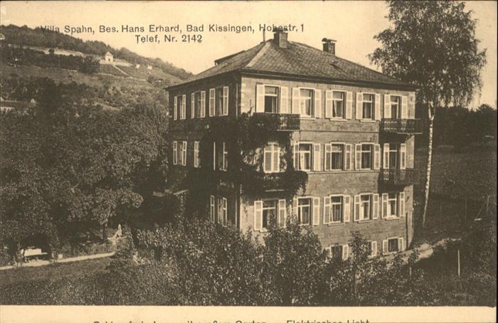 Villa Spahn Bad Kissingen