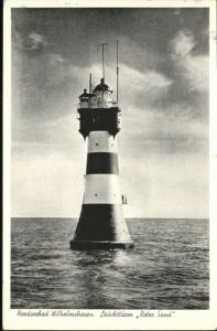 Wilhelmshaven Leuchtturm Roter Sand x