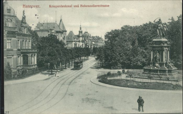 Hannover Kriegerdenkmal Hohenzollernstrasse x