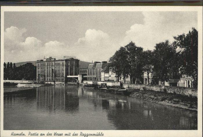 Hameln Weser Roggenmuehle *