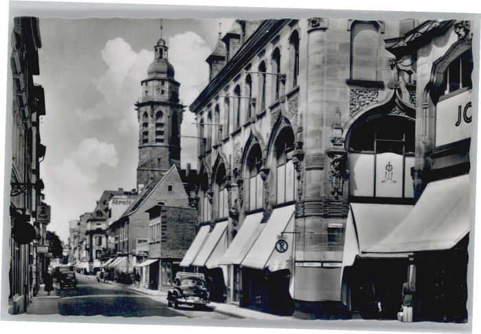 Landau Pfalz Landau Marktstrasse * / Landau in der Pfalz /Landau Pfalz Stadtkreis