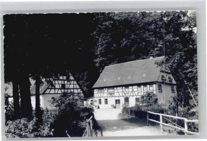Geislingen Steige [handschriftlich] Obere Roggenmuehle Seitz *