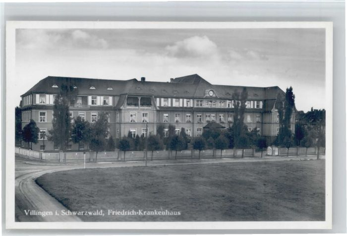 Villingen-Schwenningen Friedrich-Krankenhaus * Nr. wu45533 ...