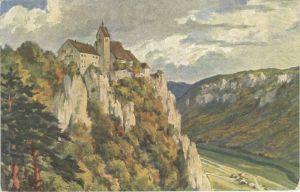 Beuron Donautal Beuron Schloss Werenwag * / Beuron /Sigmaringen LKR