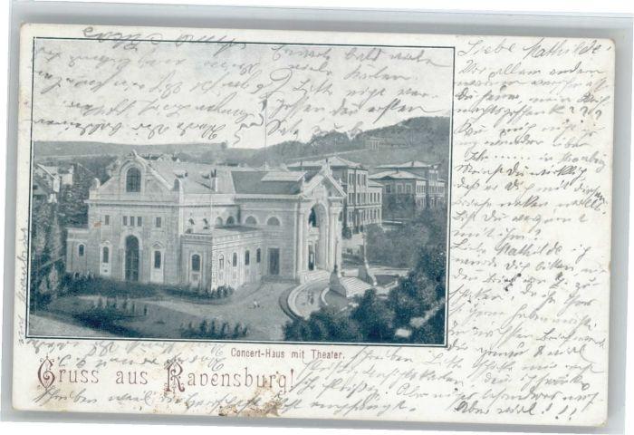 Ravensburg Wuerttemberg Ravensburg Konzerthaus x / Ravensburg /Ravensburg LKR