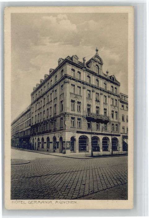 Muenchen Hotel Germania X