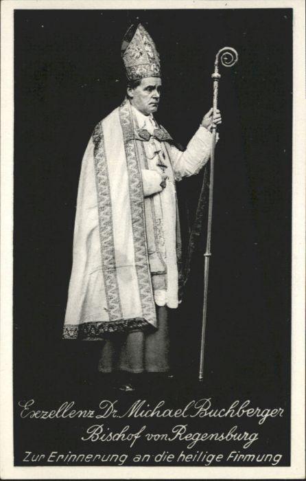Regensburg Exzellenz Dr Michael Buchberger *