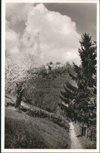 wu68853 Urach Bad Urach Bahnhof Hotel Pension Kramer * Kategorie.  Alte Ansichtskarten