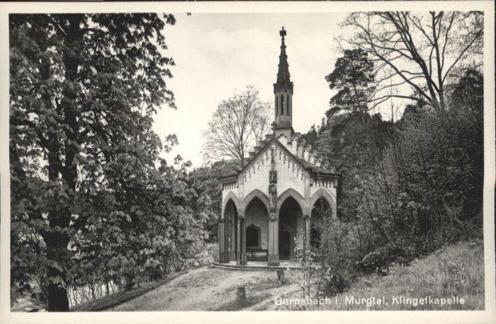 Gernsbach Klingel Kapelle *