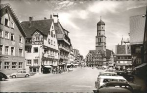 Biberach Riss Marktplatz *