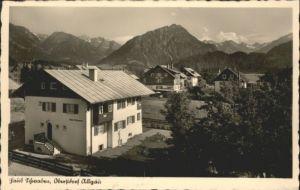 Oberstdorf Haus Schwaben *
