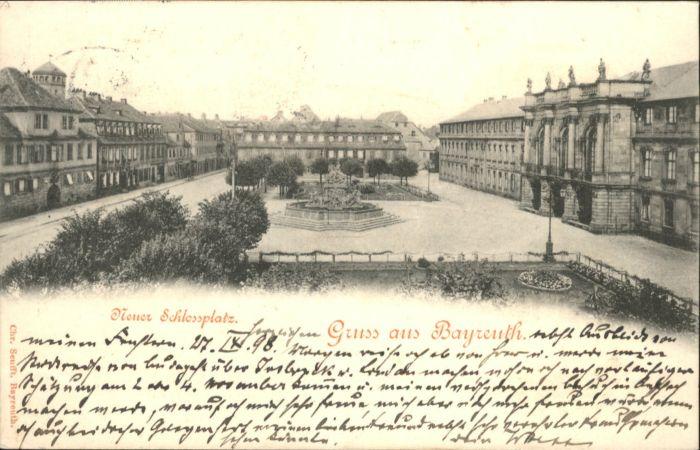Bayreuth Schlossplatz x
