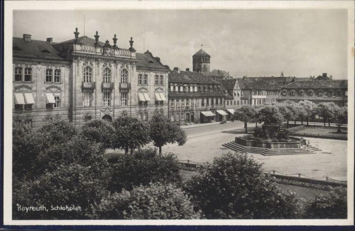 Bayreuth Schlossplatz *