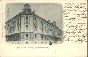 Augsburg Englisches Institut x