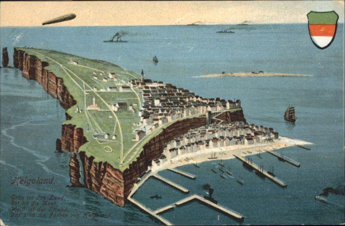 Helgoland Helgoland Zeppelin * / Helgoland /Pinneberg LKR