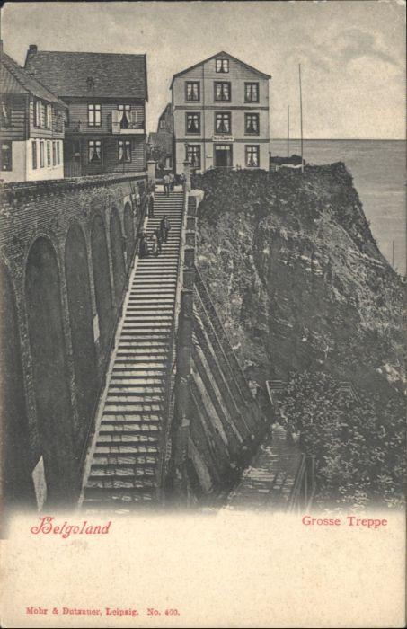 Helgoland Helgoland Grosse Treppe * / Helgoland /Pinneberg LKR