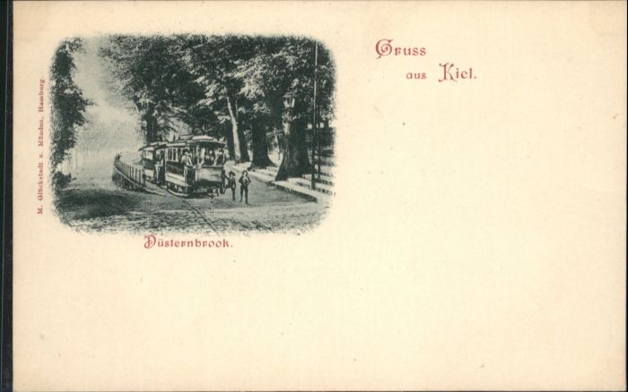 Kiel Strassenbahn Duesternbrook *