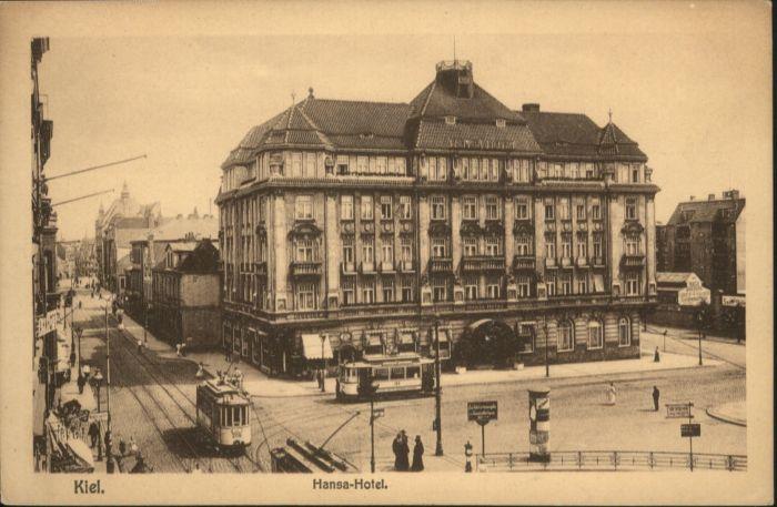Kiel Strassenbahn Hansa-Hotel  *