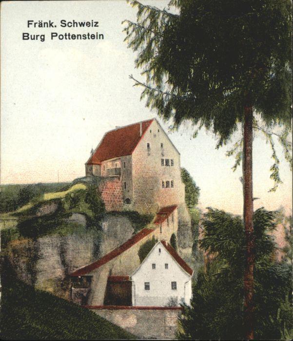Pottenstein Oberfranken Pottenstein Burg Pottenstein * / Pottenstein /Bayreuth LKR