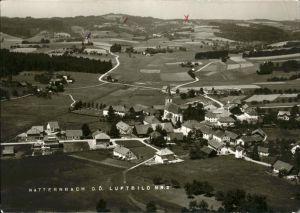 Natternbach Panorama   Luftbild Kat. Natternbach