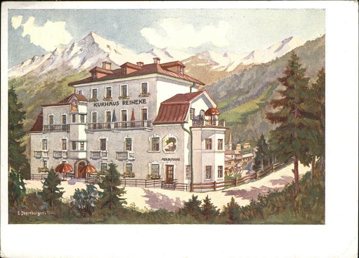 Bad Gastein Kurhaus Reineke Kat. Bad Gastein