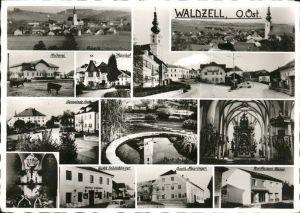Waldzell Oberoesterreich Panorama und Detailansichten Kat. Waldzell