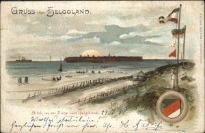 Helgoland von Duene auf Insel / Helgoland /Pinneberg LKR