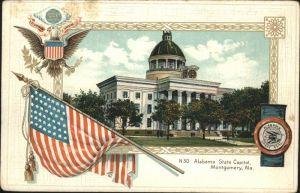 Montgomery Alabama Alabama State Capitol Kat. Montgomery
