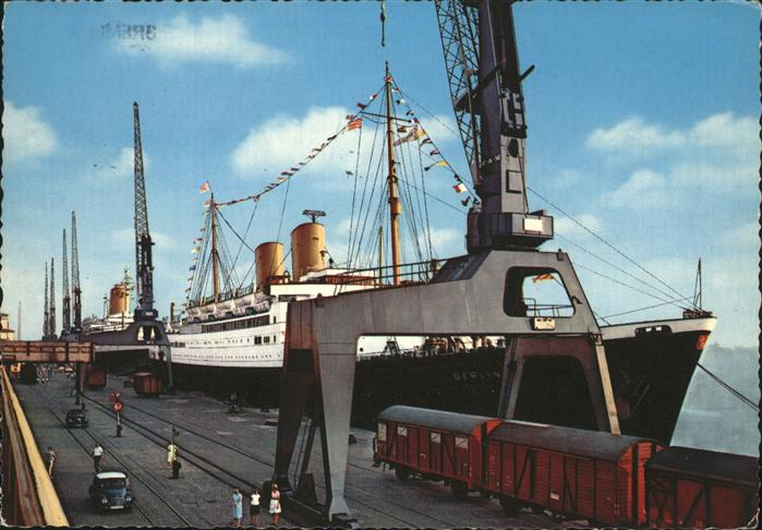 Bremerhaven Schiff MS Berlin Kat. Bremerhaven
