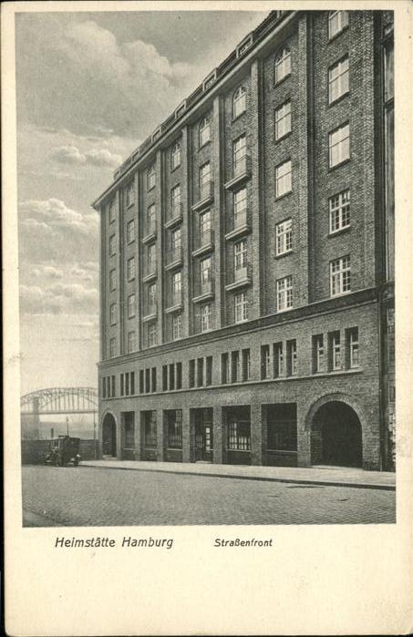 Hamburg Heimstaette des Allg. deutschen Gewerkschaftsbund Kat. Hamburg