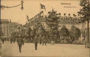 Hamburg Alsterpavillon Kat. Hamburg