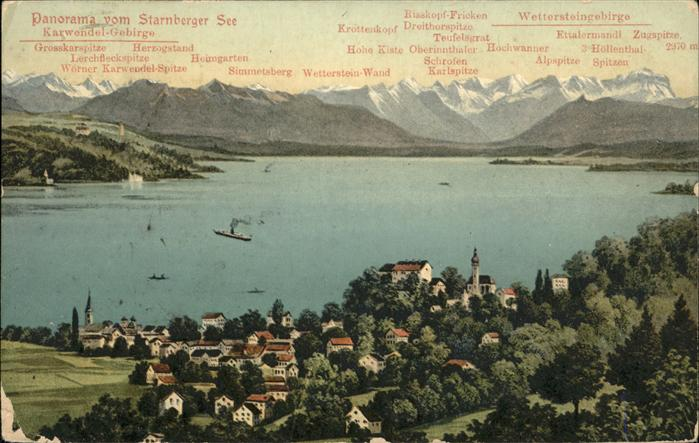 Starnberg Starnbergersee Kat. Starnberg