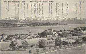 Starnberg See Karwendel Gebirge Kat. Starnberg