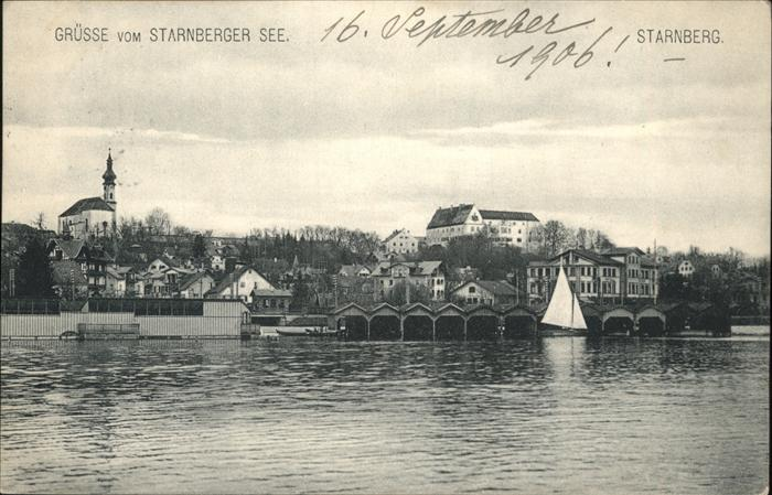 Starnberg Starnberger See Kat. Starnberg