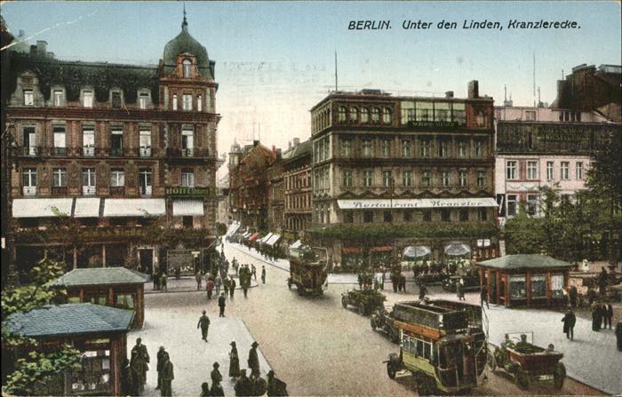 Berlin Unter den Linden Kranzlerecke Kat. Berlin
