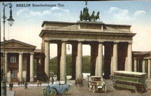 Berlin Brandenburger Tor Kat. Berlin