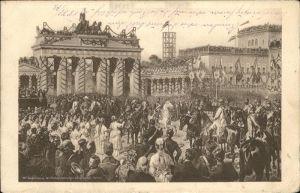 Berlin Einzug der Truppen  Kat. Berlin