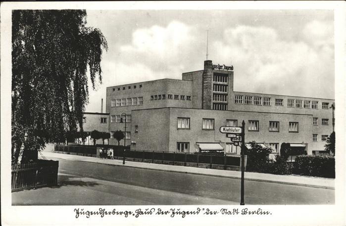 Berlin Jugendherberge Haus der Jugend Kat. Berlin