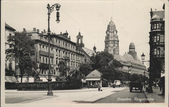 Dresden Ringstrasse Kat. Dresden