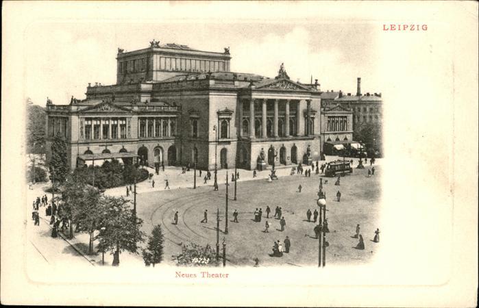 Leipzig Neues Theater Kat. Leipzig