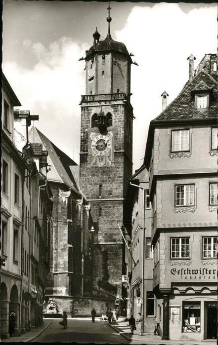 Memmingen St Martins Kirche Kat. Memmingen