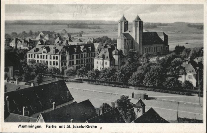 Memmingen St Josefs Kirche Kat. Memmingen
