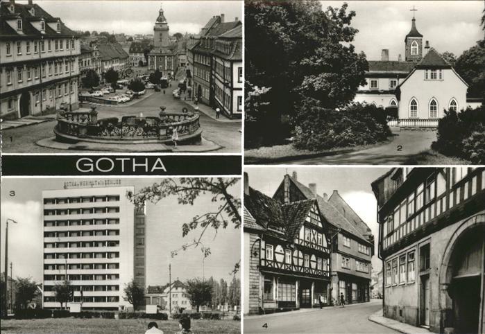 Gotha Thueringen  / Gotha /Gotha LKR