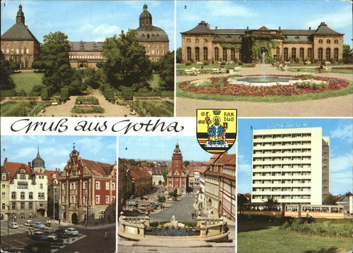 Gotha Thueringen Plattenbau Schloss Orangerie / Gotha /Gotha LKR