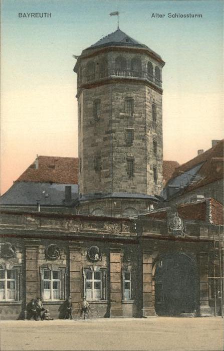 Bayreuth Alter Schlossturm Kat. Bayreuth