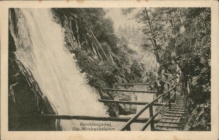 Berchtesgaden Wimbachklamm Kat. Berchtesgaden